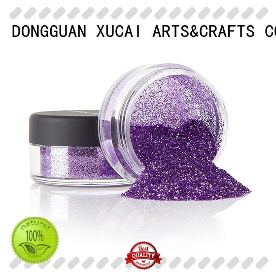 glitter powder with pe inner pack for leather Xucai