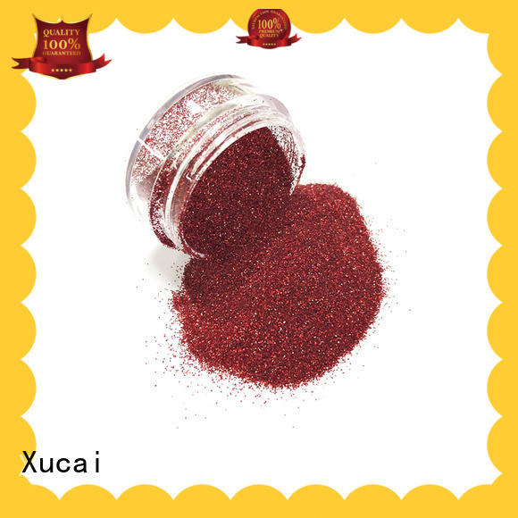 Xucai eco friendly material wholesale glitter supplier for christmas decoration