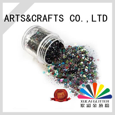 Xucai multi color glitter art heat resistance for paper printing