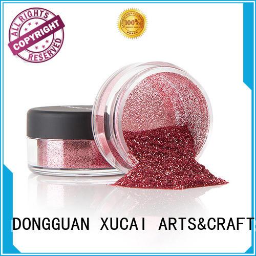 Xucai heavy metal glitter heat resistance for leather