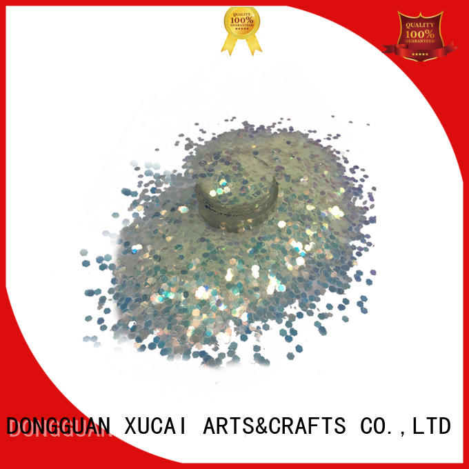Xucai chunky glitter on sale for face and body decoration
