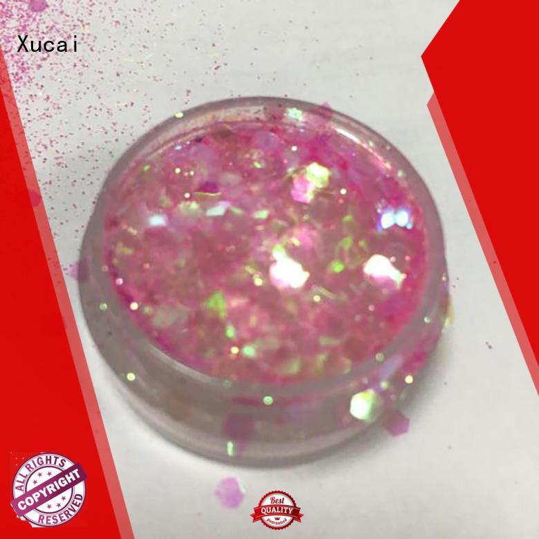Xucai chunky glitter price for cosmetic
