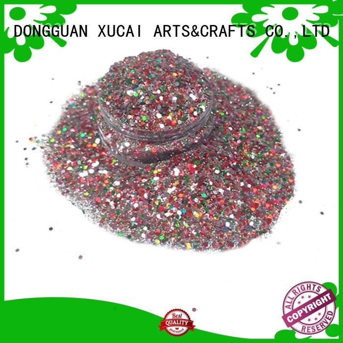 Quality XUCAI Brand cosmetic glitter craft