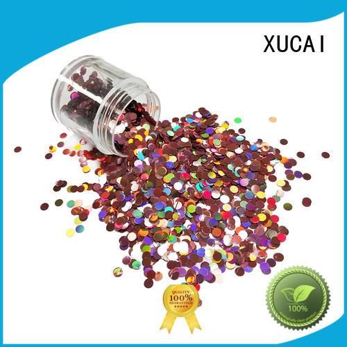 silver holographic glitter decoration XUCAI company