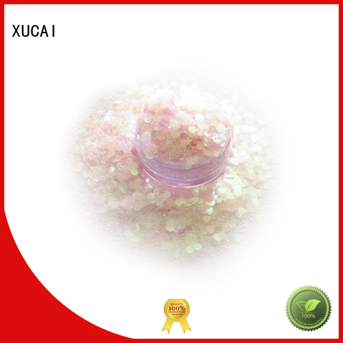 best chunky glitter for crafts professional for face and body decoration XUCAI
