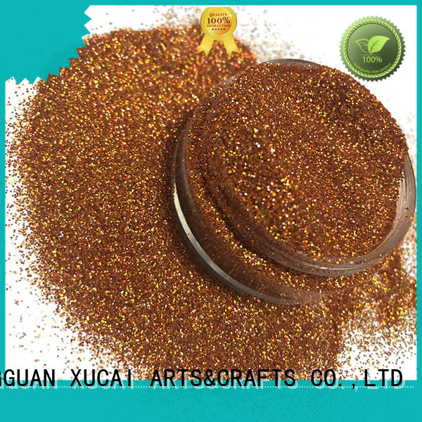 XUCAI Brand resistant holographic glitter crafts factory