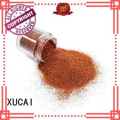 colorful glitter for glass XUCAI