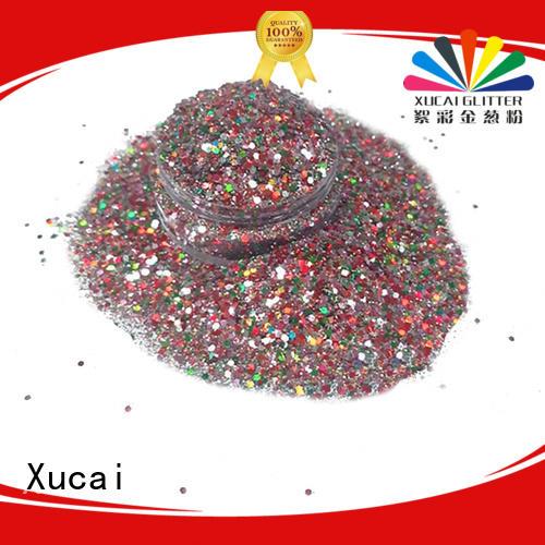 Xucai neon glitter powder for body