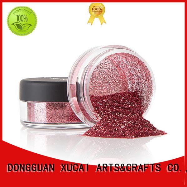 Xucai bulk metallic glitters manufacturer for fabric