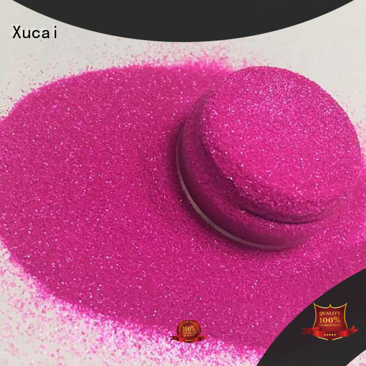 Xucai yellow neon glitter powder for craft