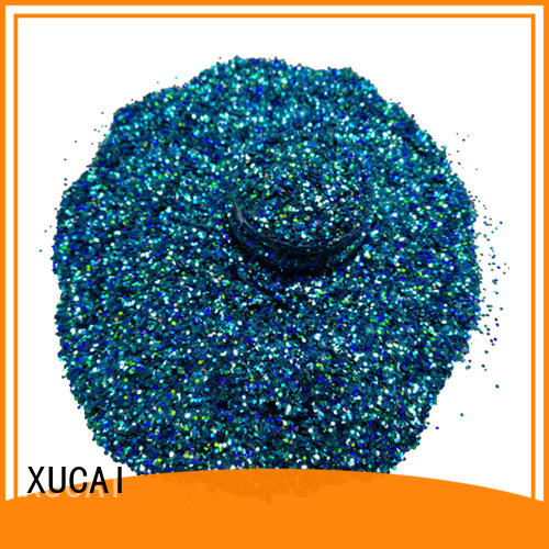 XUCAI special shape colors glitter laser rede for christmas decoration