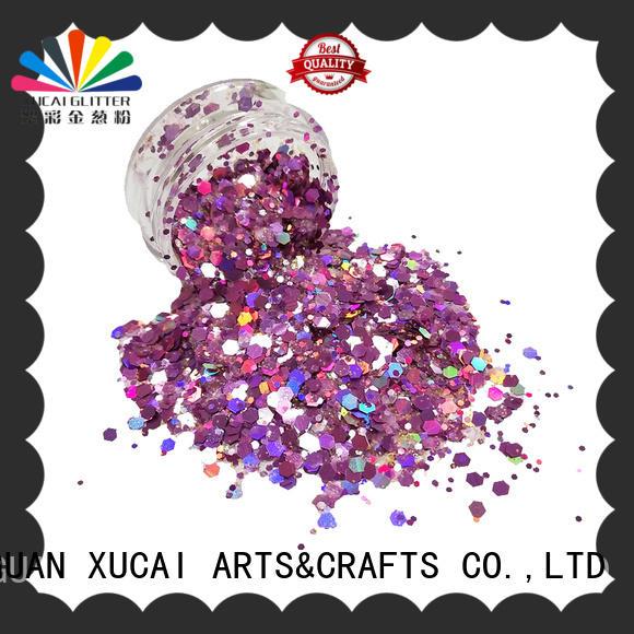 Xucai craft glitter powder for nail decoration