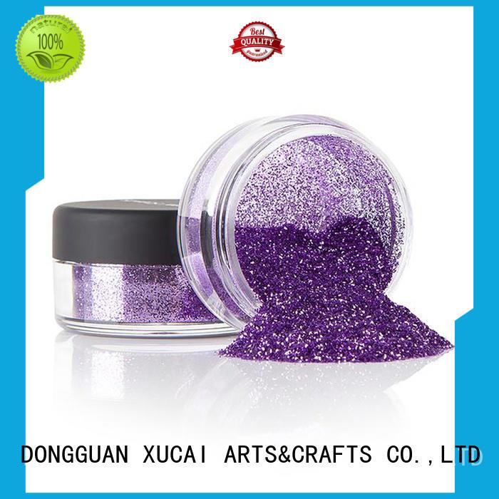 face metallic glitters powder ployester glitters XUCAI Brand