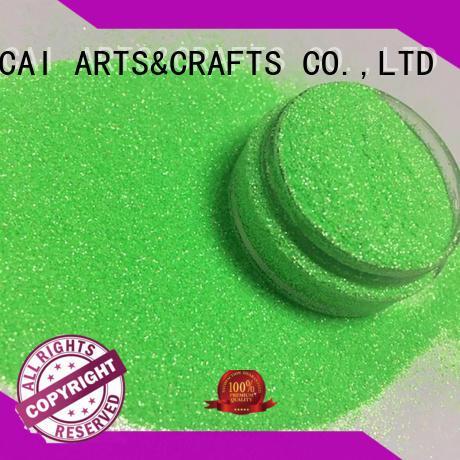 Xucai fluorescent neon glitter maker for arts