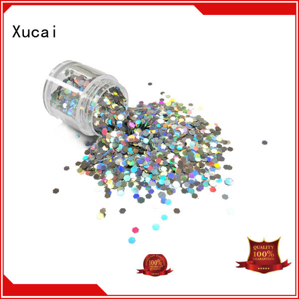 Xucai shining holographic glitter supplier for arts