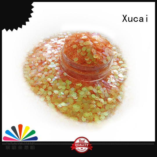 Xucai polyester chunky body glitter on sale for cosmetic
