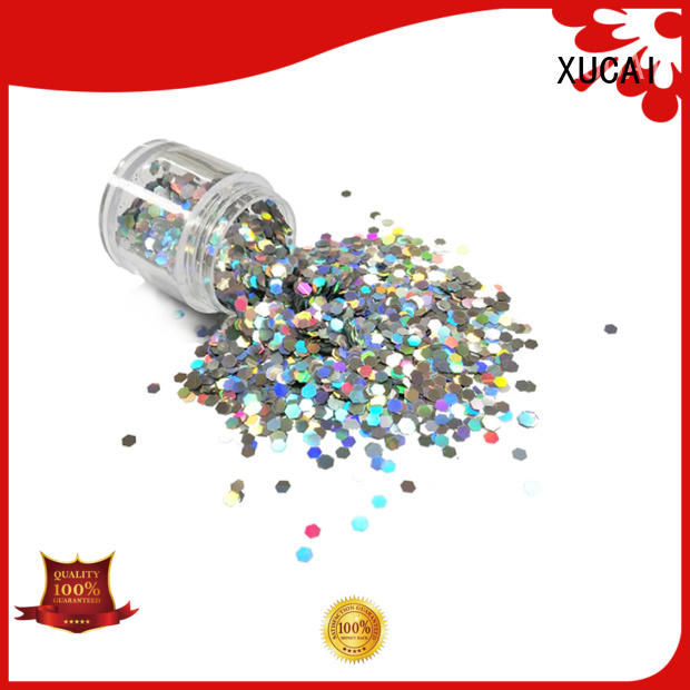 XUCAI festival glitter arts and crafts supplier for christmas decoration
