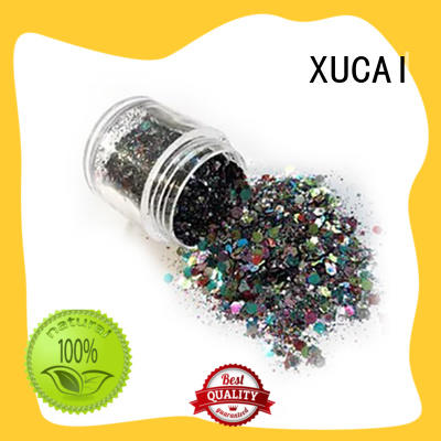 XUCAI polyester colorful glitter popular for fabric