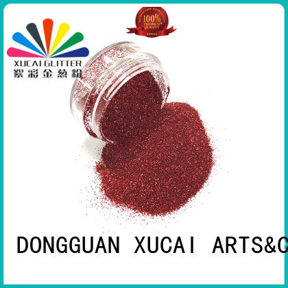 Xucai cosmetic holographic glitter laser rede for arts