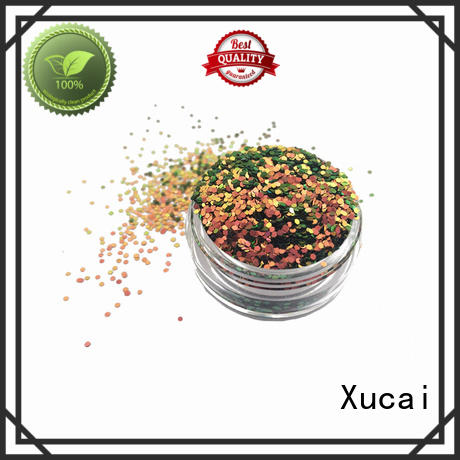Xucai color shifting glitter factory price for nail art makeup