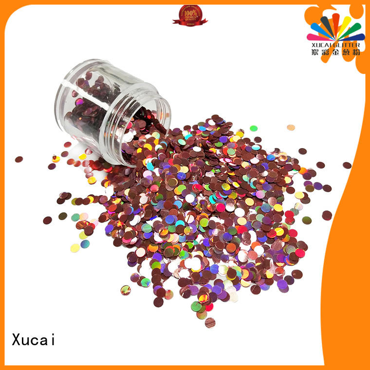 Xucai hot selling glitters manufacturer for body