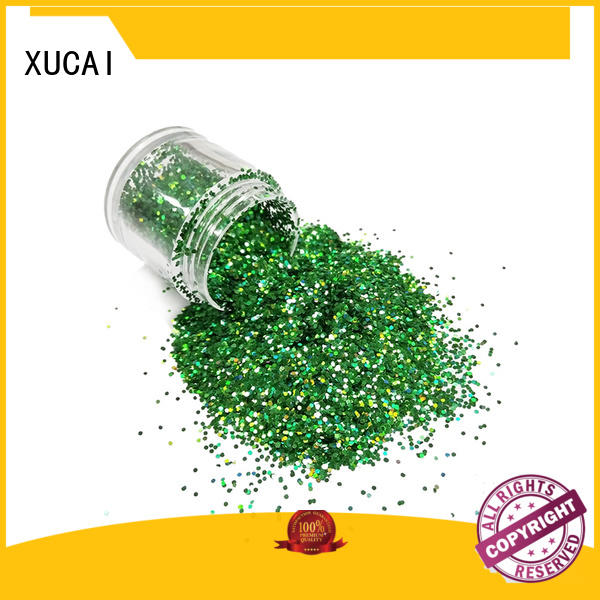 XUCAI Brand sparkle eco holographic holographic glitter