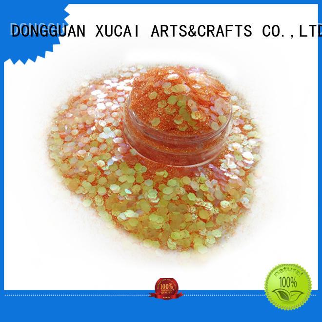 XUCAI Brand nails chunky chunky glitter manufacture