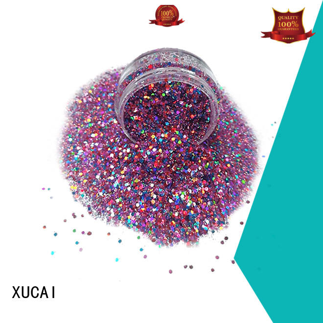 chunky glitter vans decoration polyester XUCAI Brand company