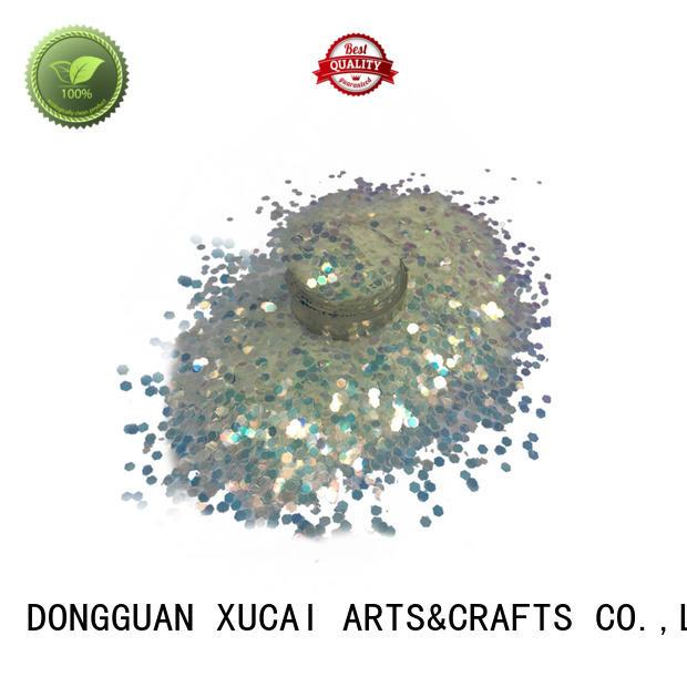 nails chunky glitter vans polyester XUCAI company