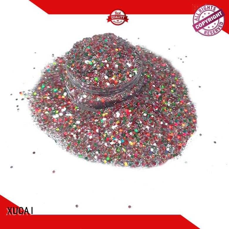 XUCAI glitter factory customization for arts
