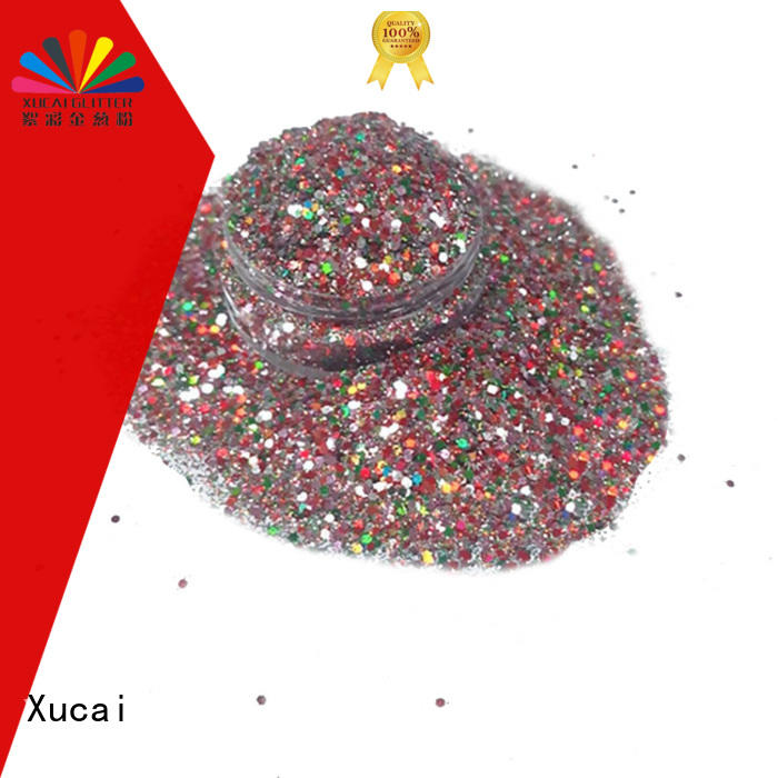 Xucai neon glitter customization for nail
