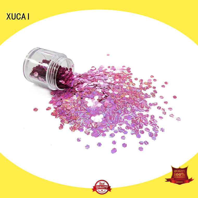 customized face and body glitter laser rede for christmas decoration XUCAI
