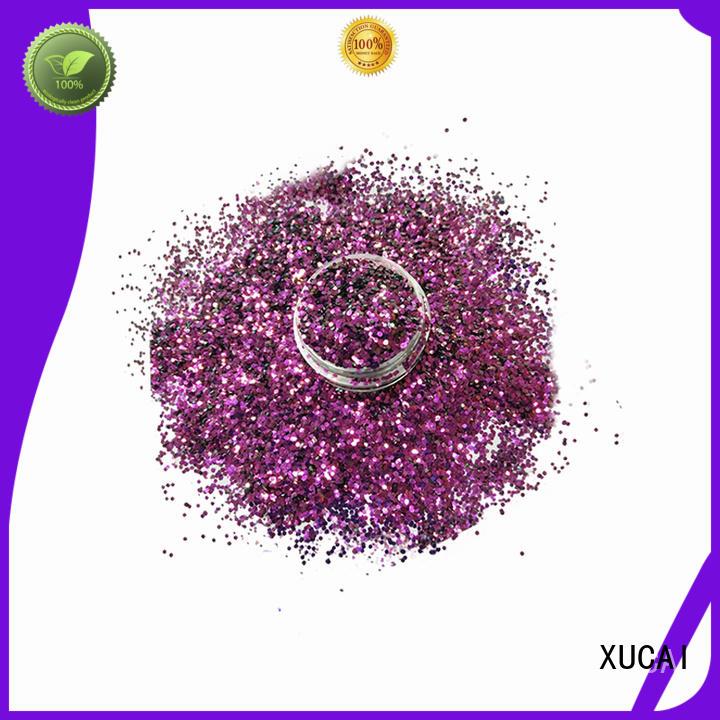 XUCAI Brand colorful various shifting UV glitter manufacture