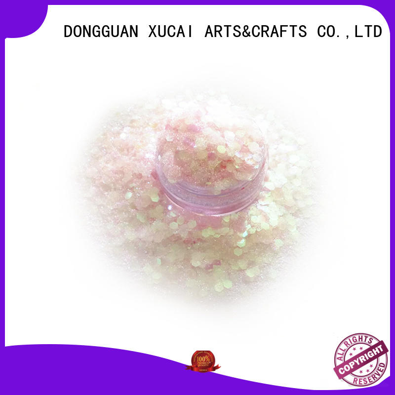XUCAI mixed chunky glitter for crafts wholesale for face and body decoration