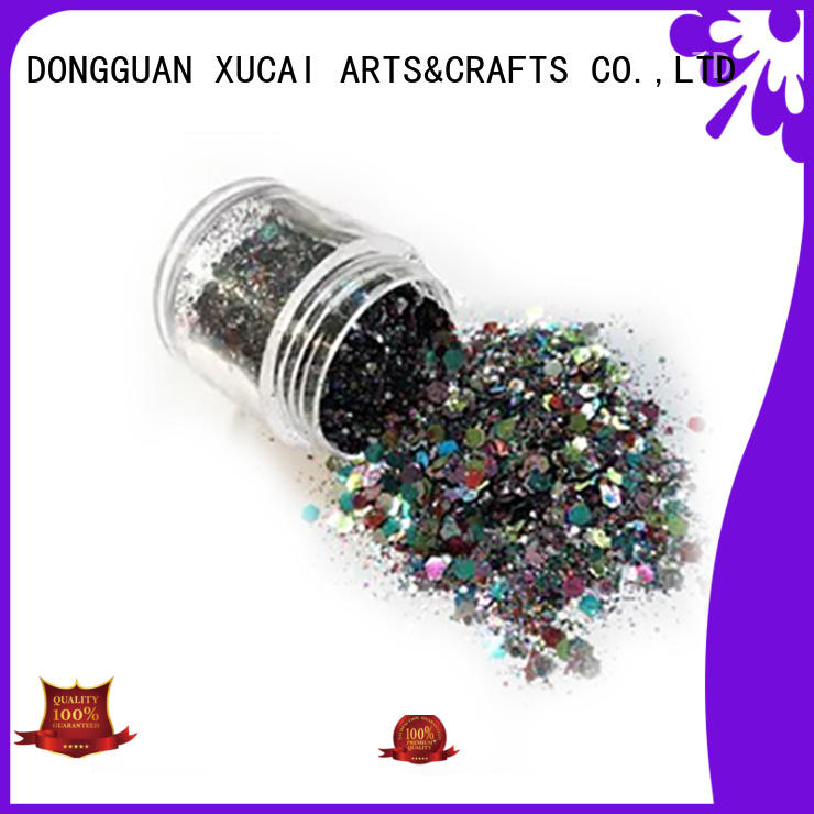 Xucai polyester metal flake glitter for decoration
