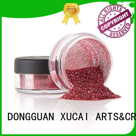 XUCAI Brand powder glitters metallic glitters manufacture