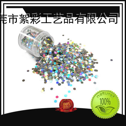 holographic nail powder heart selling like Brand holographic glitter