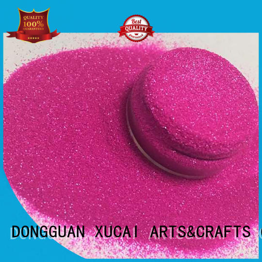 holographic powder cosmetic glitter quality XUCAI company