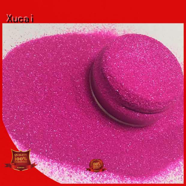 fluorescent glitter powder pink maker for christmas craft decoration