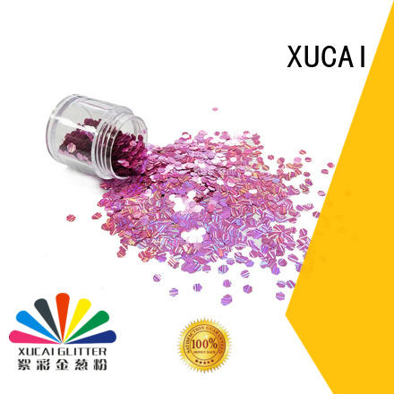 high quality cosmetic glitter hot sale for arts XUCAI
