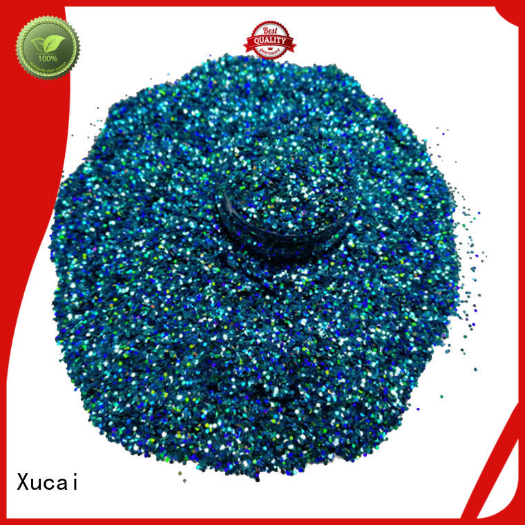 Xucai glitter factory laser rede for body