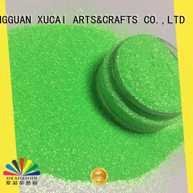 XUCAI holographic glitter factory customization for christmas craft decoration