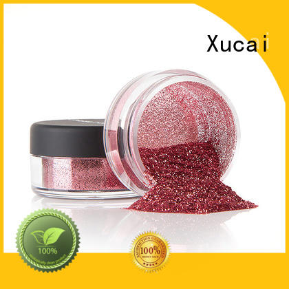 Xucai multicolor craft glitter manufacturer for glass