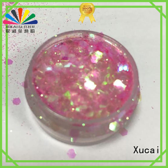 chunky gold glitter wholesale for cosmetic Xucai