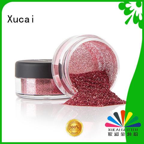 Xucai eco friendly glitter metal heat resistance for decoration