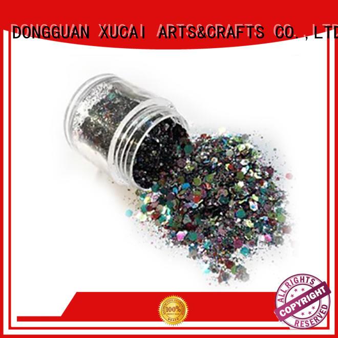 cosmetic metallic XUCAI Brand metallic glitters powder factory