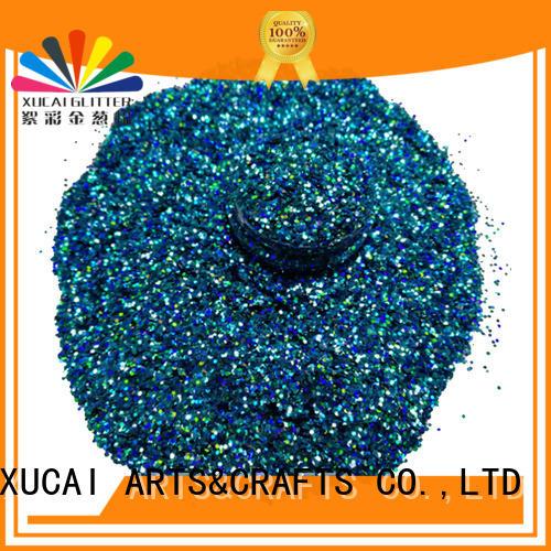Wholesale like holographic nail powder XUCAI Brand