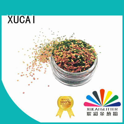 XUCAI Brand shifting shape custom glitter arts and crafts