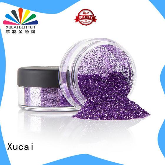 Xucai metallic glitter eyeshadow heat resistance for paper printing
