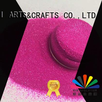pet nontoxic crafts neon glitter XUCAI Brand